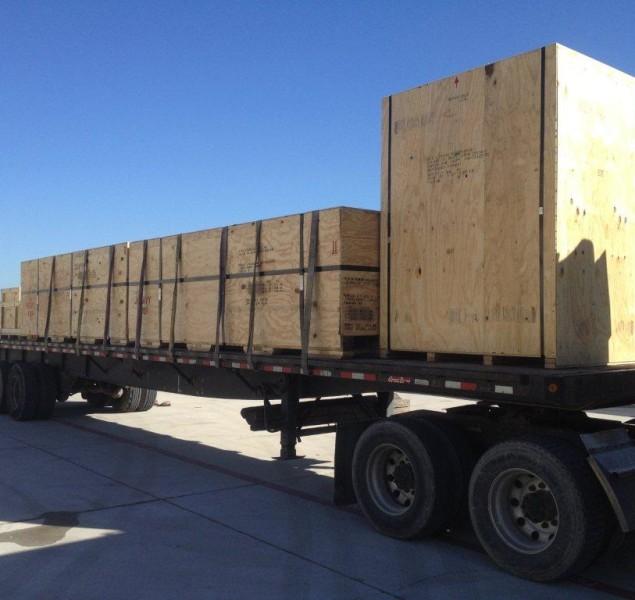 Q AIR Truck Loading